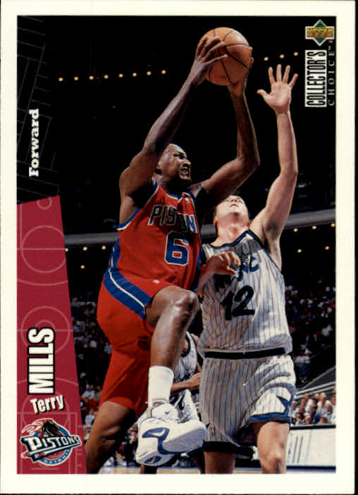 1996-97 Collector's Choice #50 Terry Mills