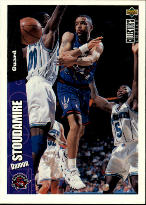 1996-97 Collector's Choice #151 Damon Stoudamire