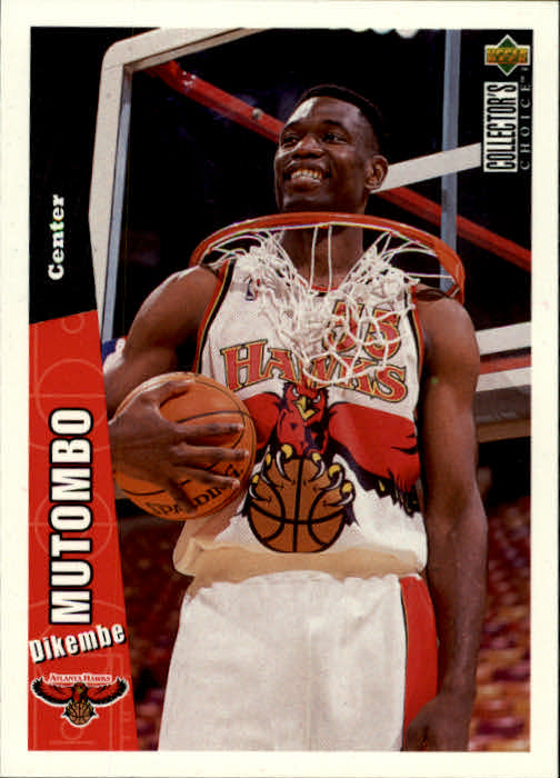 1996-97 Collector's Choice #205 Dikembe Mutombo