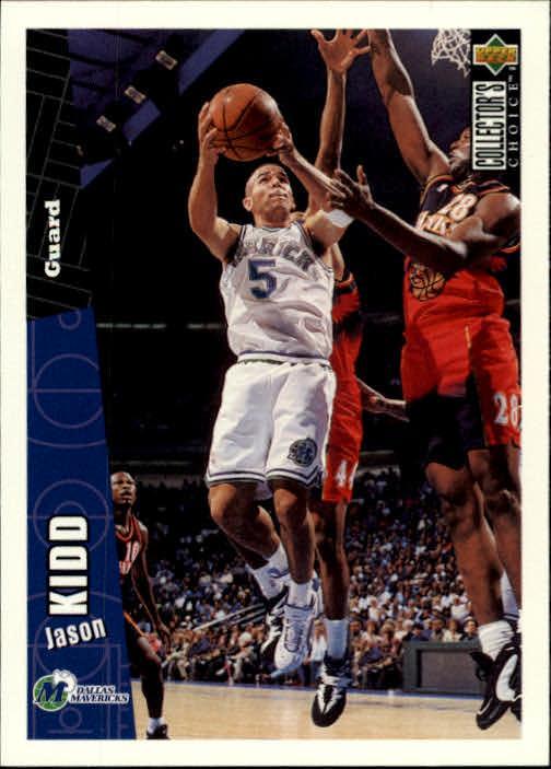 1996-97 Collector's Choice #229 Jason Kidd