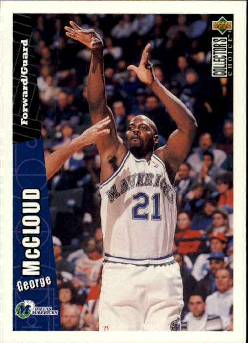 1996-97 Collector's Choice #230 George McCloud