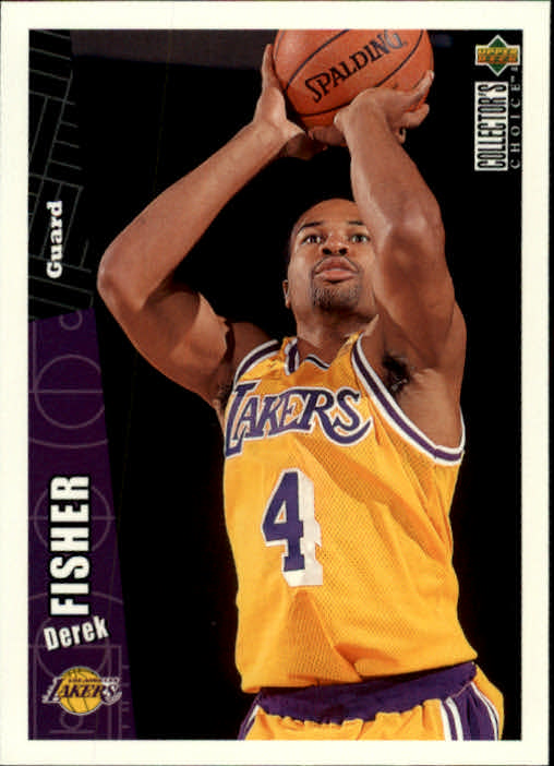 1996-97 Collector's Choice #269 Derek Fisher RC