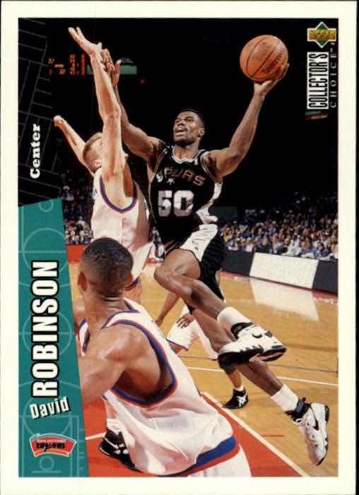 1996-97 Collector's Choice #329 David Robinson