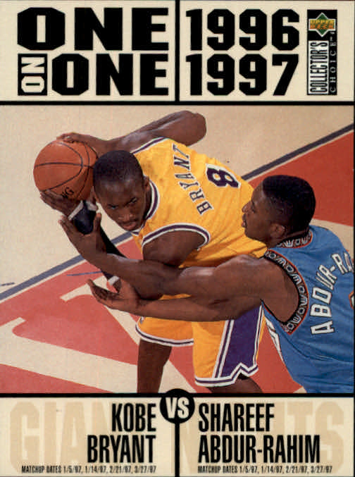 1996-97 Collector's Choice #361 Kobe Bryant/Shareef Abdur-Rahim ONE