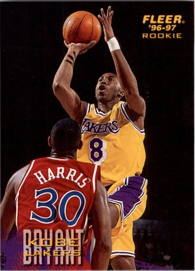 1996-97 Fleer Sprite #17 Kobe Bryant