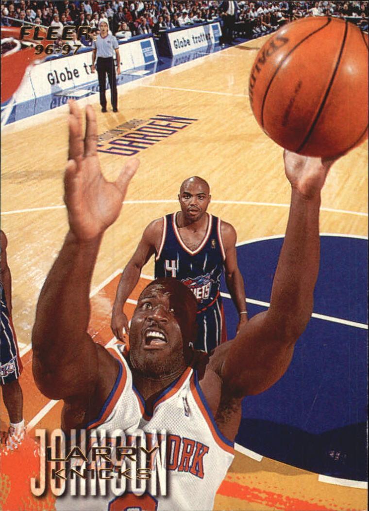1996-97 Fleer European #255 Larry Johnson