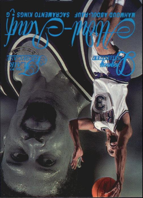 1996-97 Flair Showcase Legacy Collection Row 1 #2 Mitch Richmond