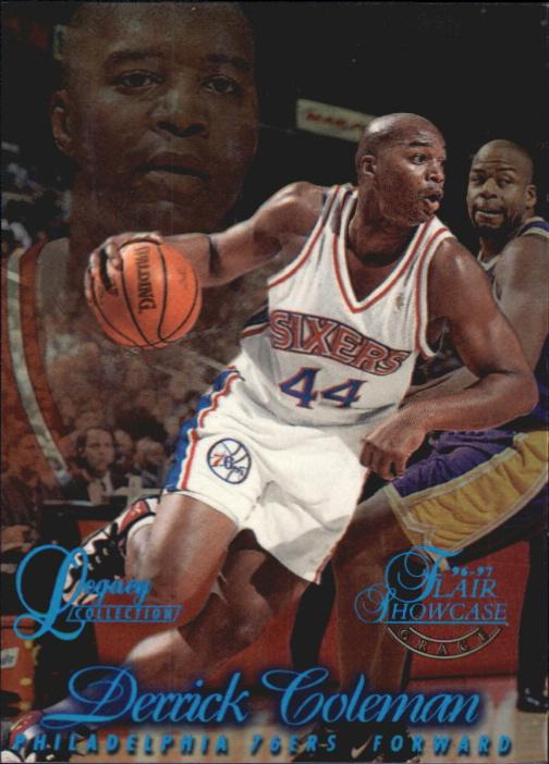 1996-97 Flair Showcase Legacy Collection Row 1 #32 Derrick Coleman