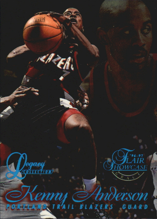 1996-97 Flair Showcase Legacy Collection Row 1 #50 Kenny Anderson