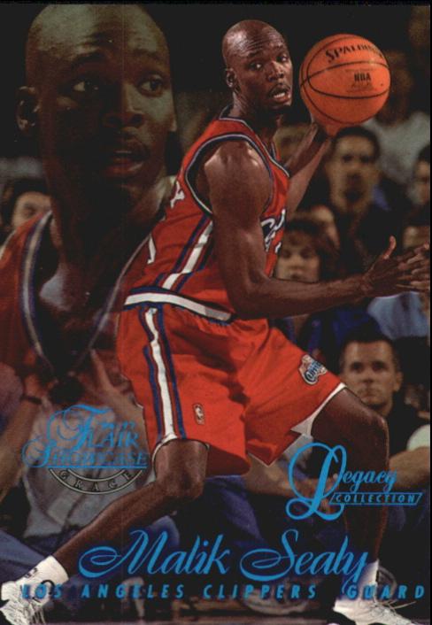 1996-97 Flair Showcase Legacy Collection Row 1 #77 Malik Sealy