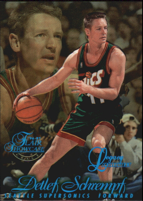 1996-97 Flair Showcase Legacy Collection Row 1 #83 Detlef Schrempf