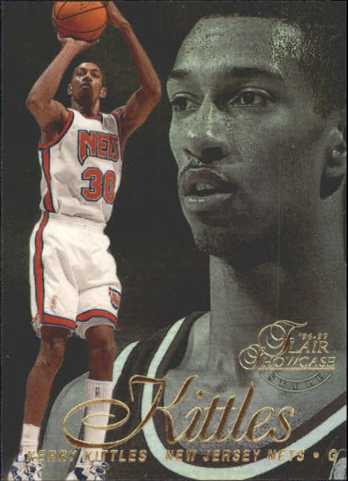 1996-97 Flair Showcase Legacy Collection Row 2 #8 Kerry Kittles