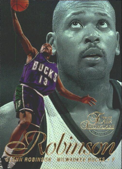 1996-97 Flair Showcase Legacy Collection Row 2 #13 Glenn Robinson