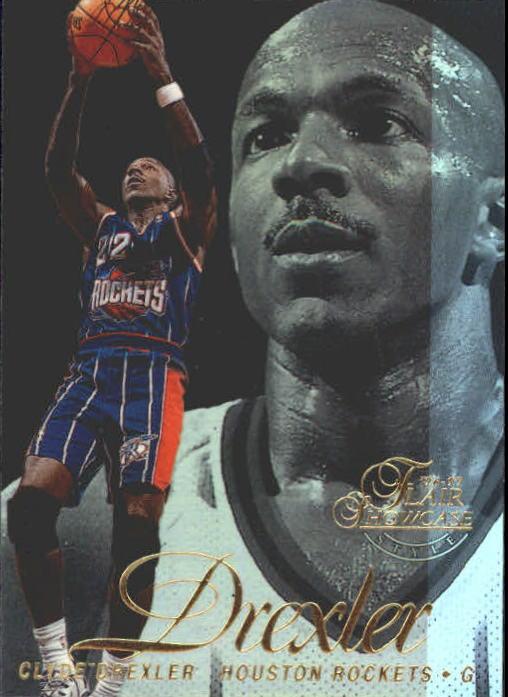 1996-97 Flair Showcase Legacy Collection Row 2 #22 Clyde Drexler