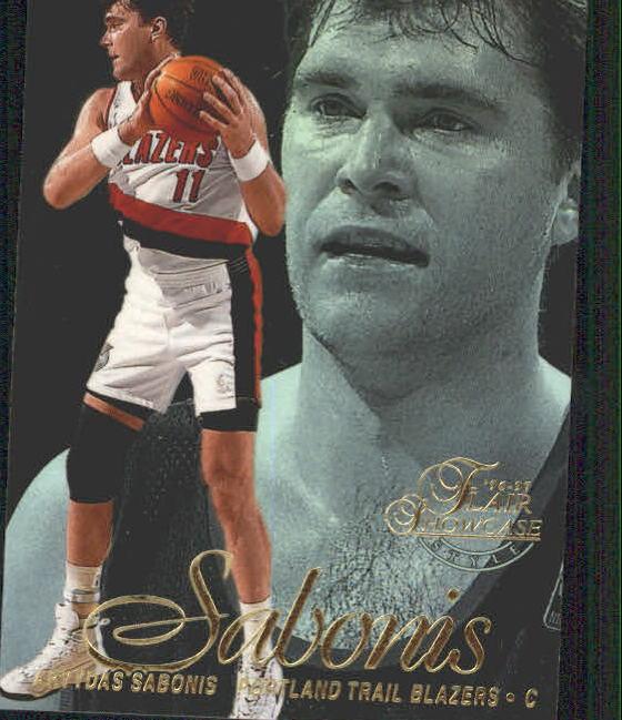 1996-97 Flair Showcase Legacy Collection Row 2 #36 Arvydas Sabonis