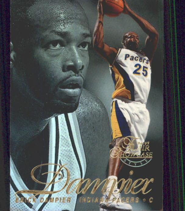 1996-97 Flair Showcase Legacy Collection Row 2 #42 Erick Dampier