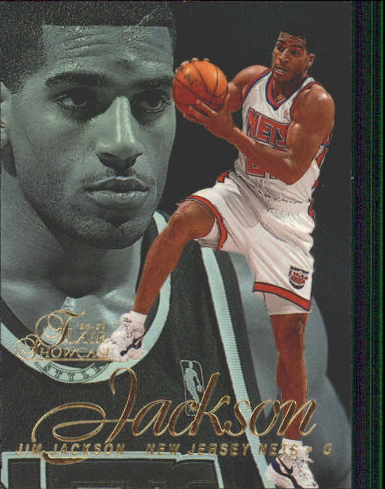 1996-97 Flair Showcase Legacy Collection Row 2 #46 Jim Jackson