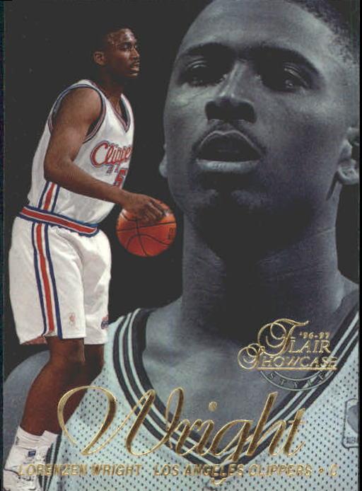 1996-97 Flair Showcase Legacy Collection Row 2 #56 Lorenzen Wright