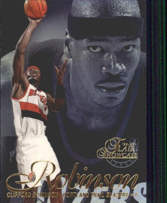 1996-97 Flair Showcase Legacy Collection Row 2 #62 Clifford Robinson