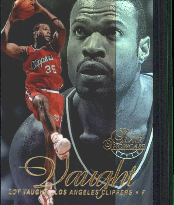 1996-97 Flair Showcase Legacy Collection Row 2 #66 Loy Vaught
