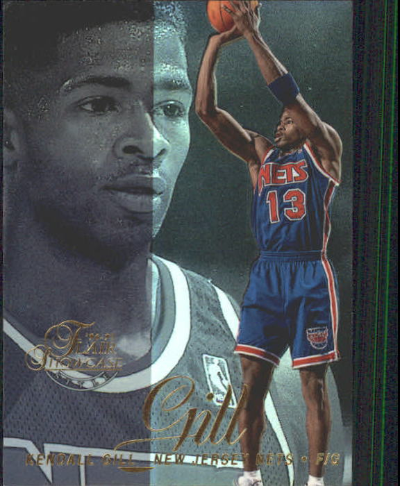 1996-97 Flair Showcase Legacy Collection Row 2 #74 Kendall Gill