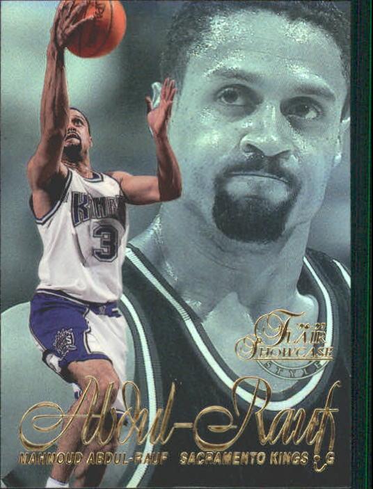 1996-97 Flair Showcase Legacy Collection Row 2 #86 Mahmoud Abdul-Rauf