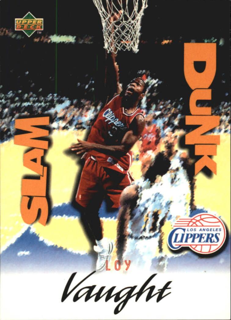 1997 Upper Deck Nestle Slam Dunk 27 Loy Vaught NM MT