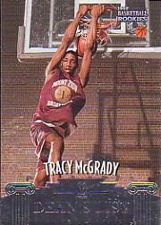 1997 Score Board Rookies Dean's List #48 Tracy McGrady