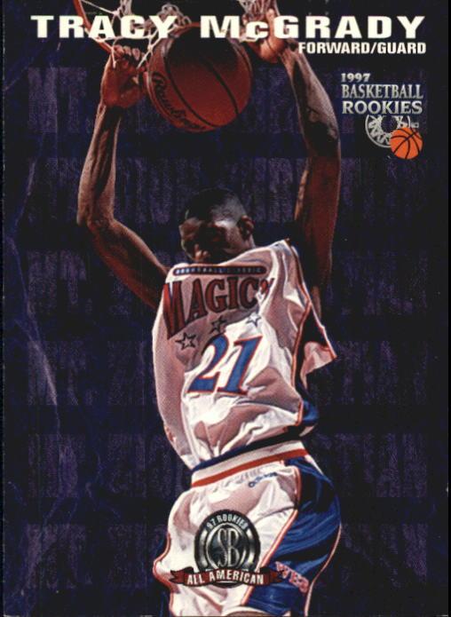 1997 Score Board Rookies #66 Tracy McGrady AA