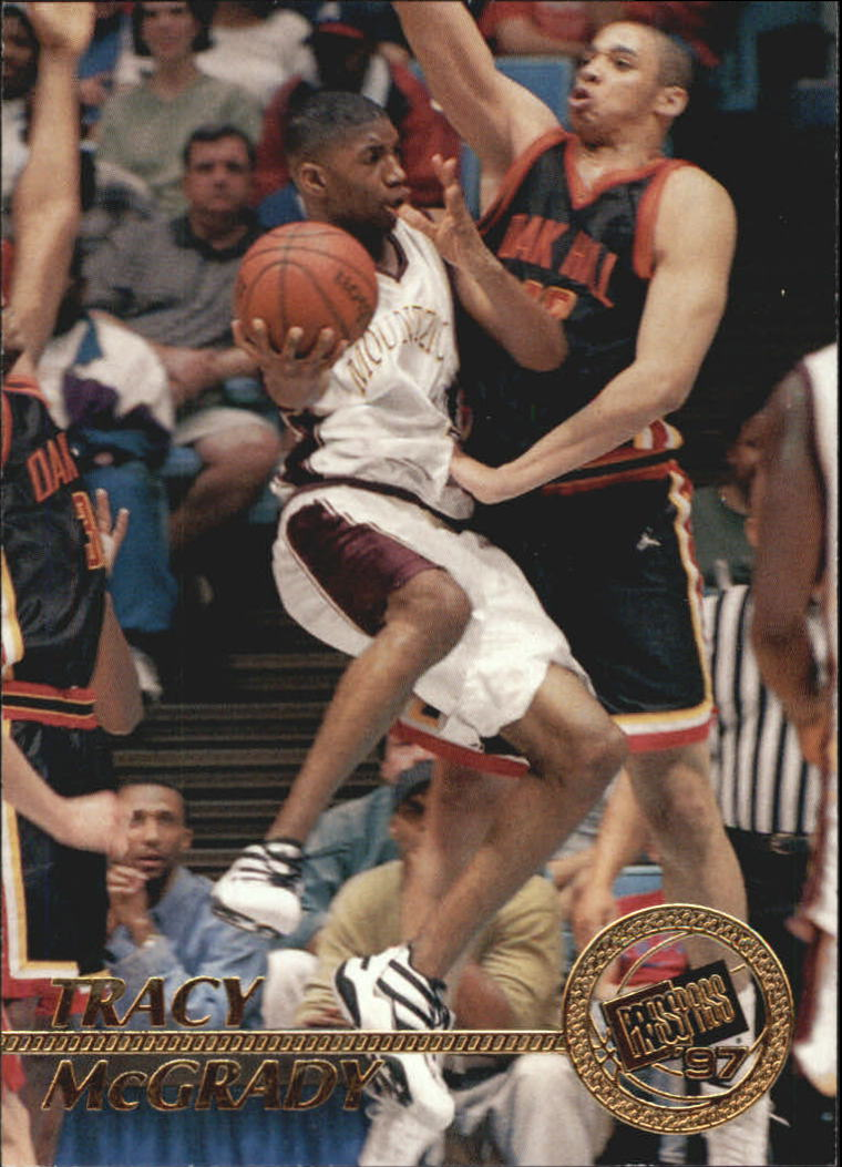 1997 Press Pass #8 Tracy McGrady