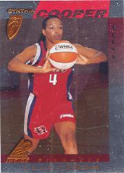 1997 Pinnacle Inside WNBA Court Collection #2 Cynthia Cooper