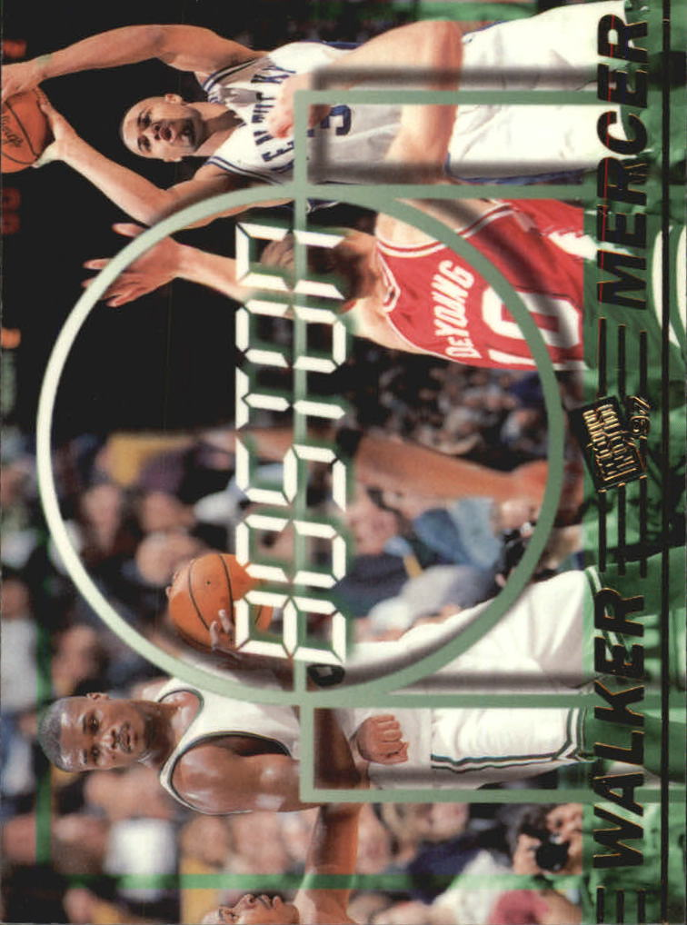 1997 Press Pass Double Threat #37 Ray Mercer/Antoine Walker