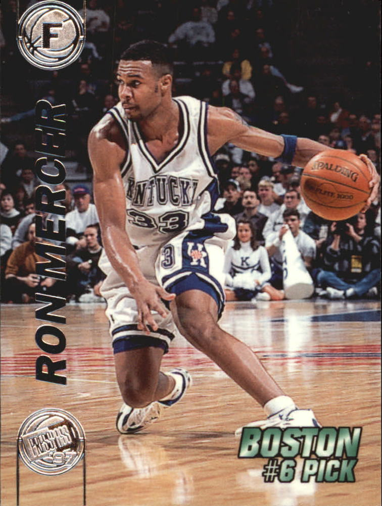1997 Press Pass Double Threat Silver #6 Ron Mercer