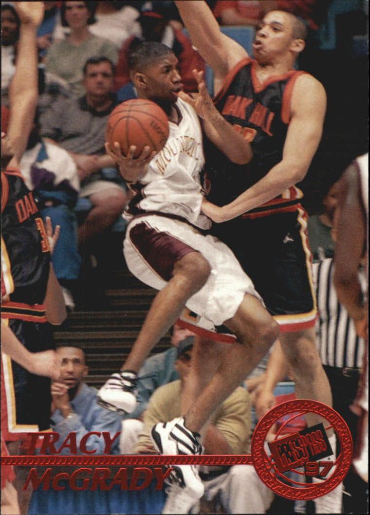 1997 Press Pass Red Zone #8 Tracy McGrady