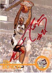 1997 Press Pass Autographs #9 Tim Duncan