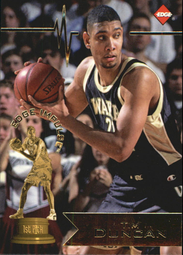 1997 Collector's Edge #1 Tim Duncan
