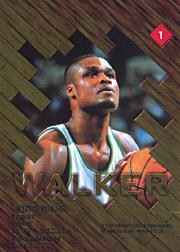 1997 Collector's Edge Game Ball #1 Antoine Walker back image