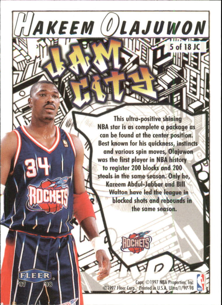 1997-98-Ultra-Jam-City-Basketball-Cards-Pick-From-List thumbnail 3