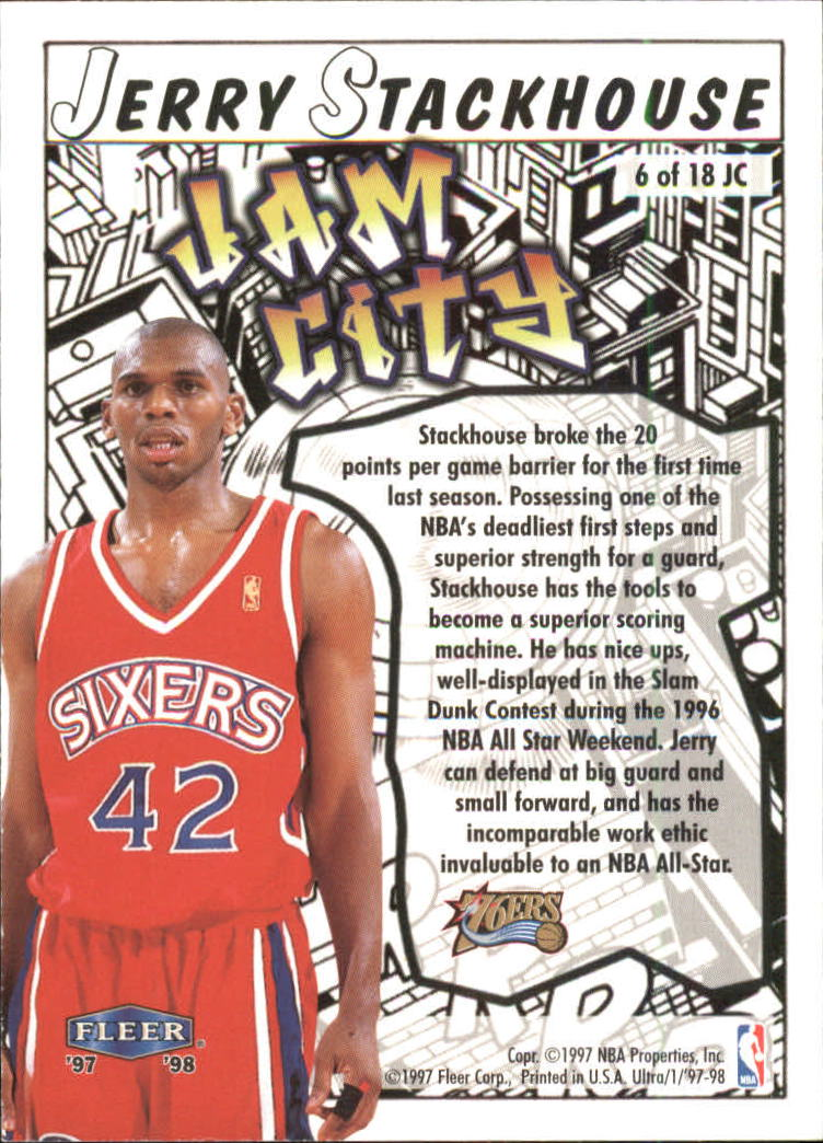 1997-98-Ultra-Jam-City-Basketball-Cards-Pick-From-List thumbnail 5