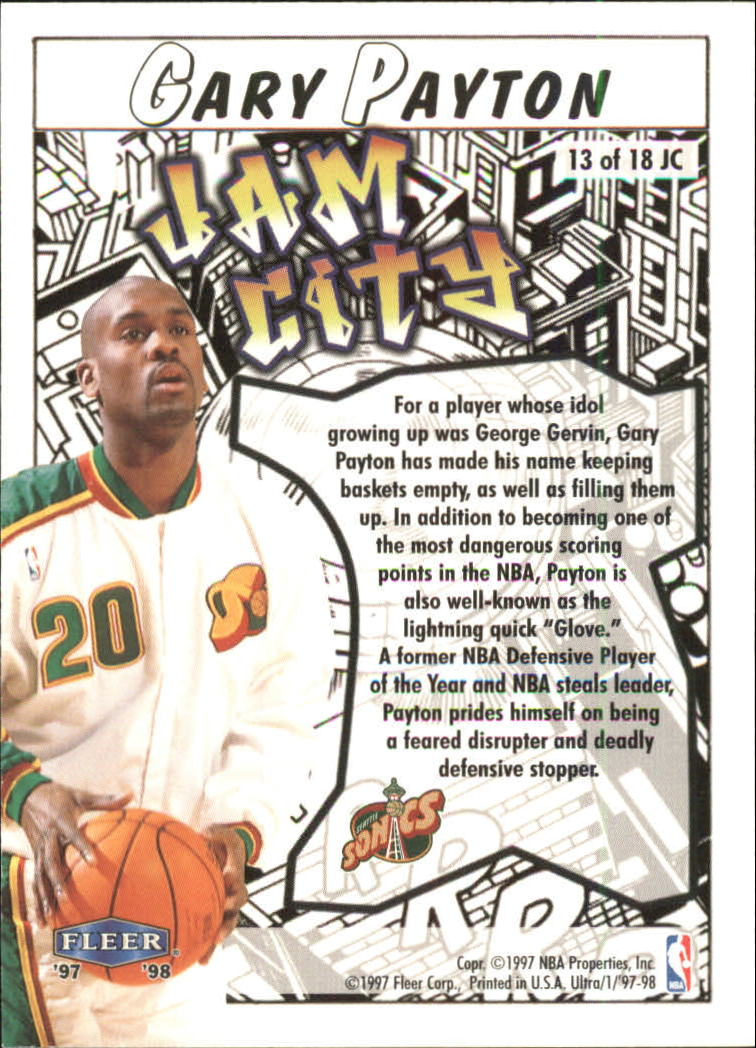 1997-98-Ultra-Jam-City-Basketball-Cards-Pick-From-List thumbnail 11