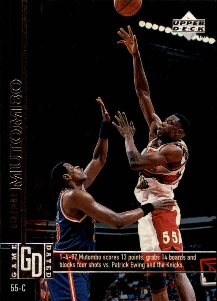 1997-98 Upper Deck #4 Dikembe Mutombo