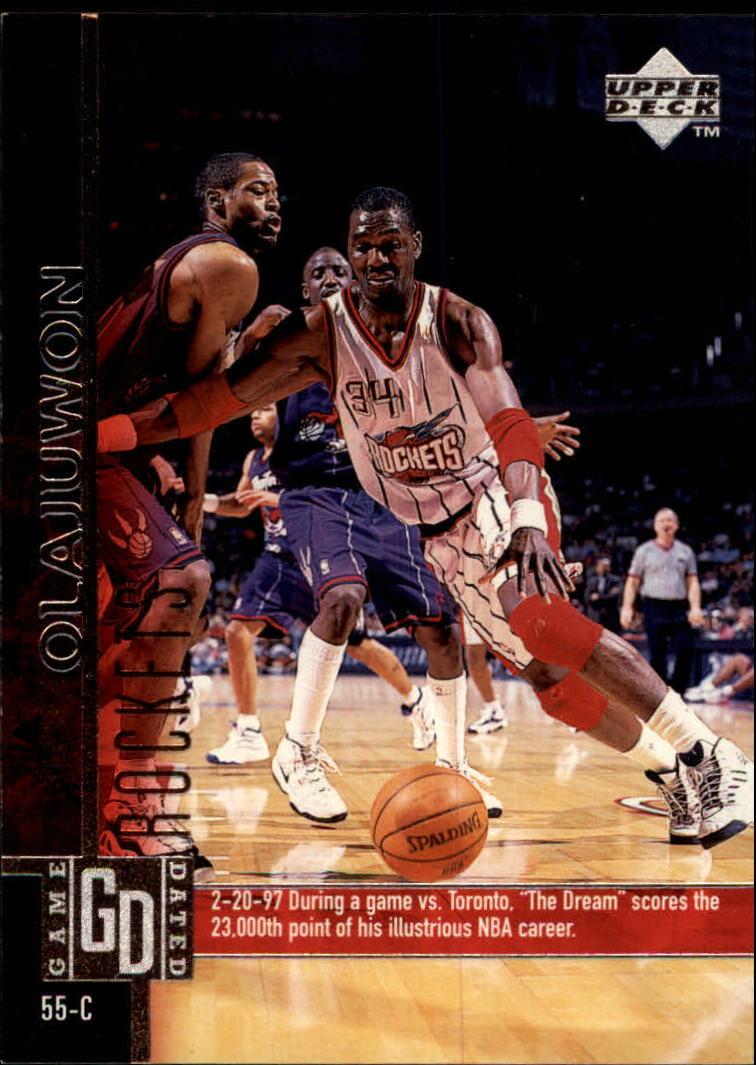 1997-98 Upper Deck #45 Hakeem Olajuwon