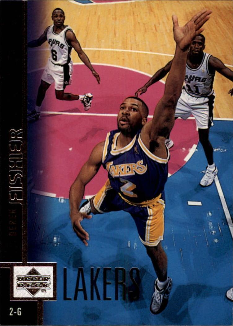 1997-98 Upper Deck #60 Derek Fisher