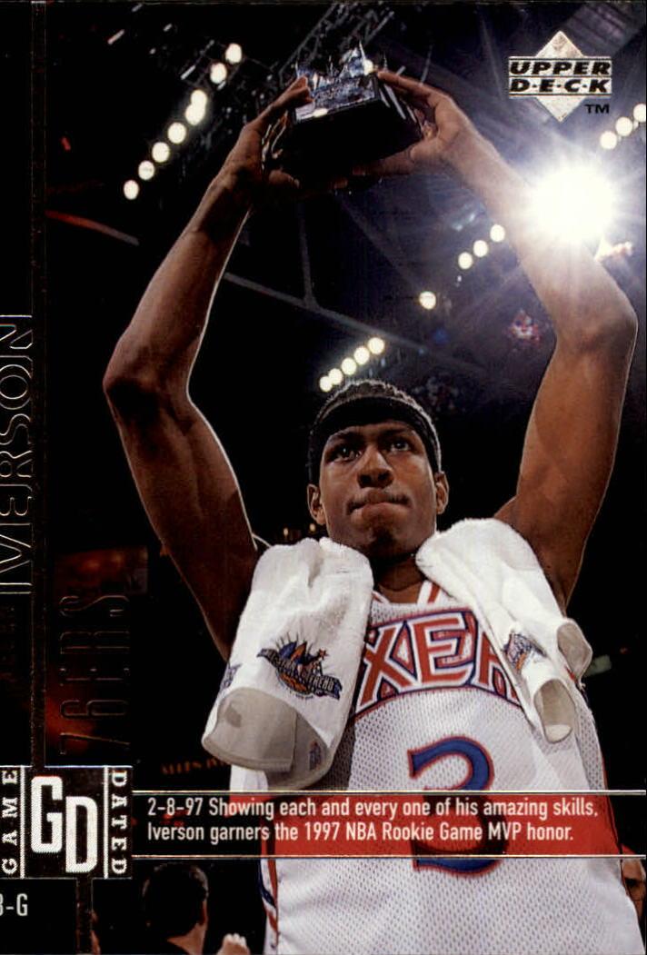1997-98 Upper Deck #93 Allen Iverson