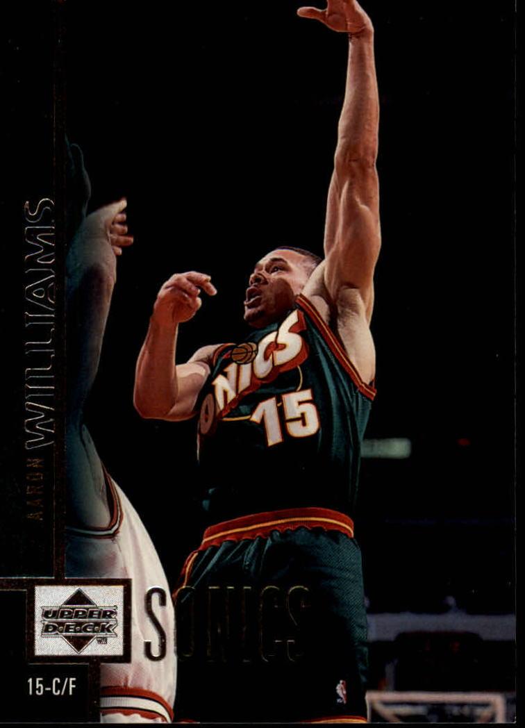 1997-98 Upper Deck #297 Aaron Williams