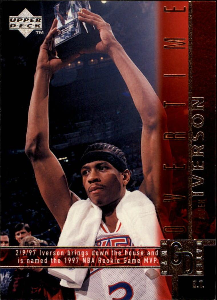 1997-98 Upper Deck #317 Allen Iverson OT