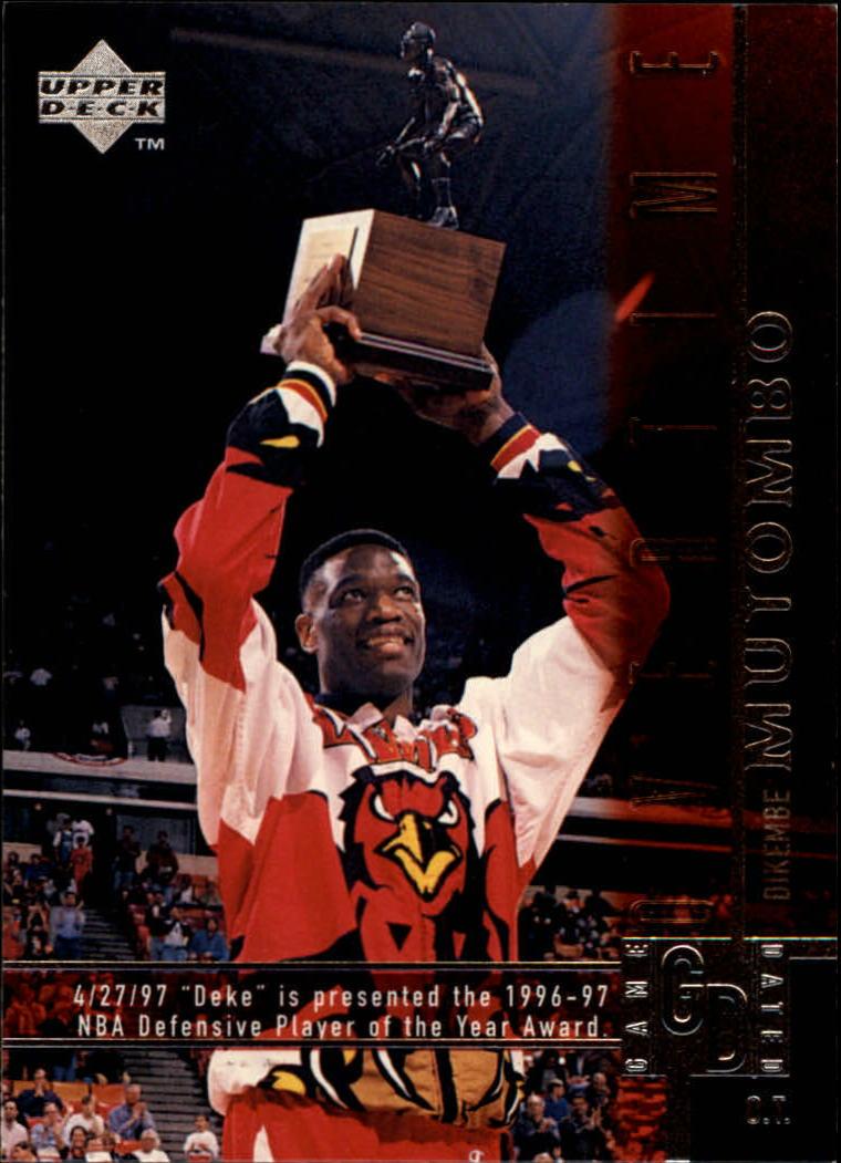 1997-98 Upper Deck #320 Dikembe Mutombo OT
