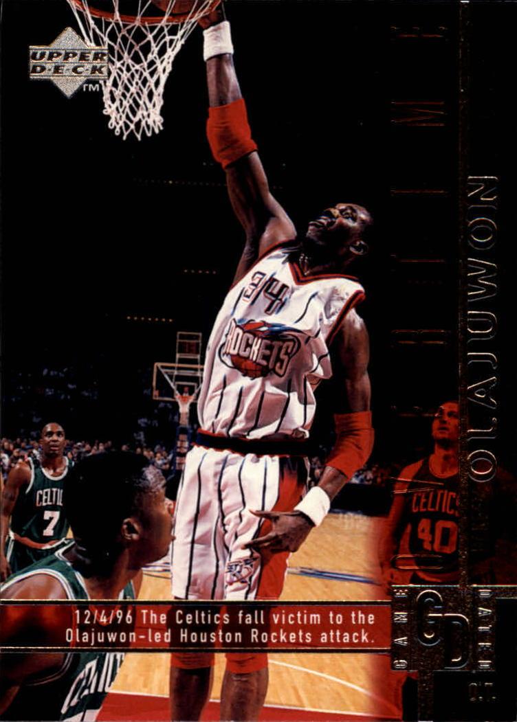 1997-98 Upper Deck #322 Hakeem Olajuwon OT