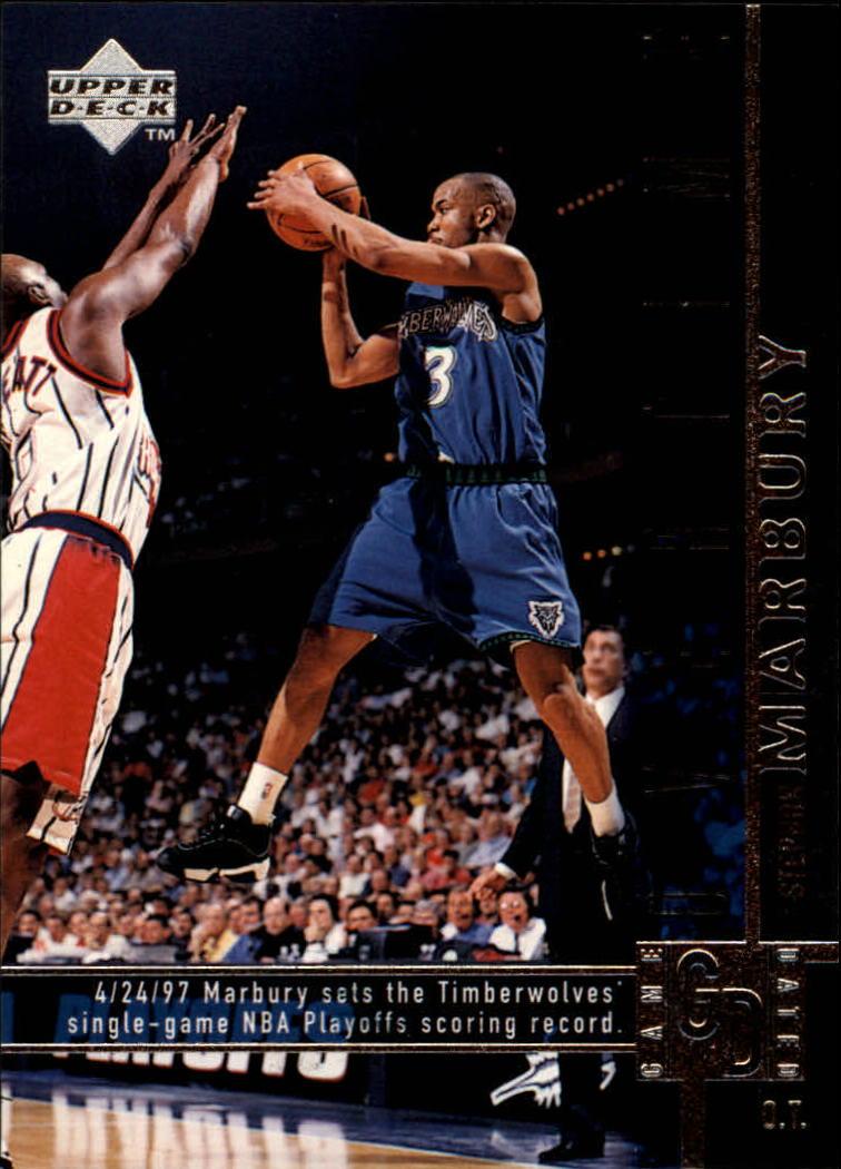 1997-98 Upper Deck #323 Stephon Marbury OT