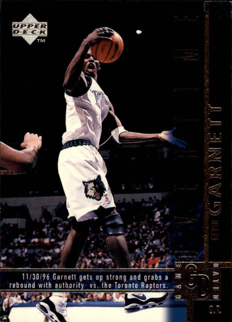 1997-98 Upper Deck #328 Kevin Garnett OT